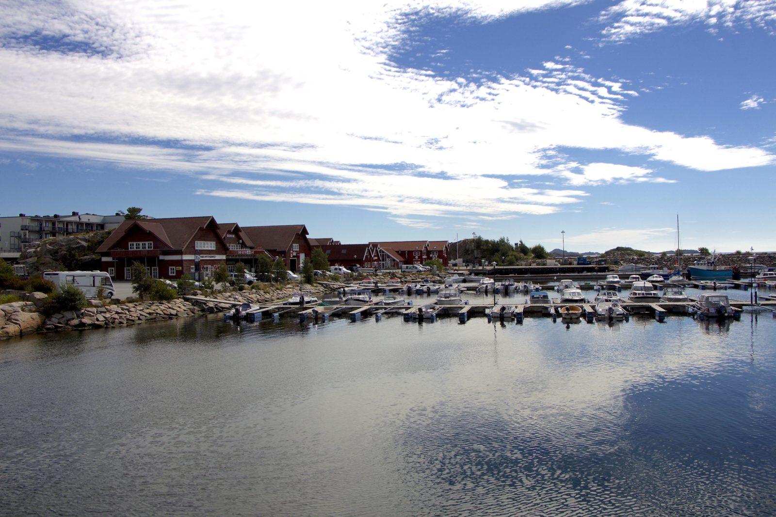 Båly havn på spangereid i Lindesnes kommune.